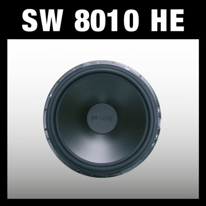 SW 8010 HE Subwoofer