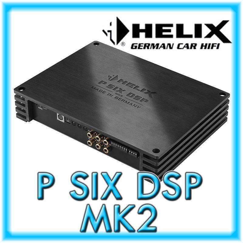 P SIX DSP 6-Kanal-Verstärker mit High-End DSP