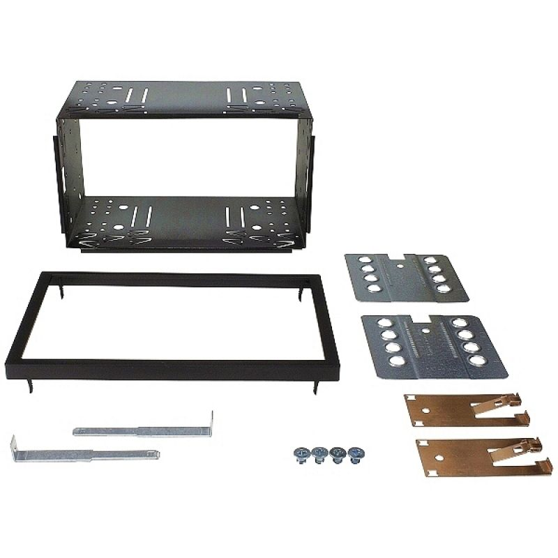 metall installations kit f r doppel din blenden. Black Bedroom Furniture Sets. Home Design Ideas